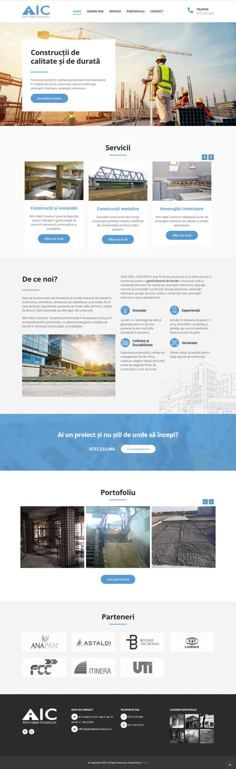Website Almi