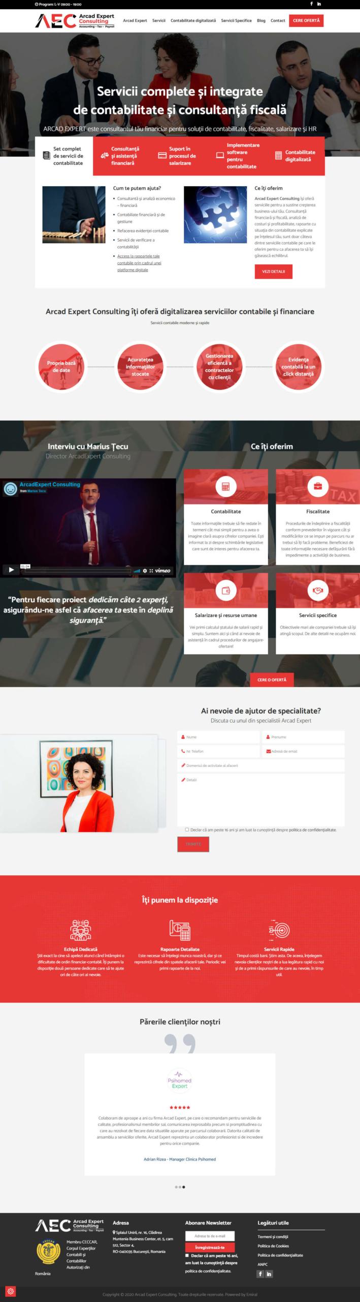 Website Arcad Expert