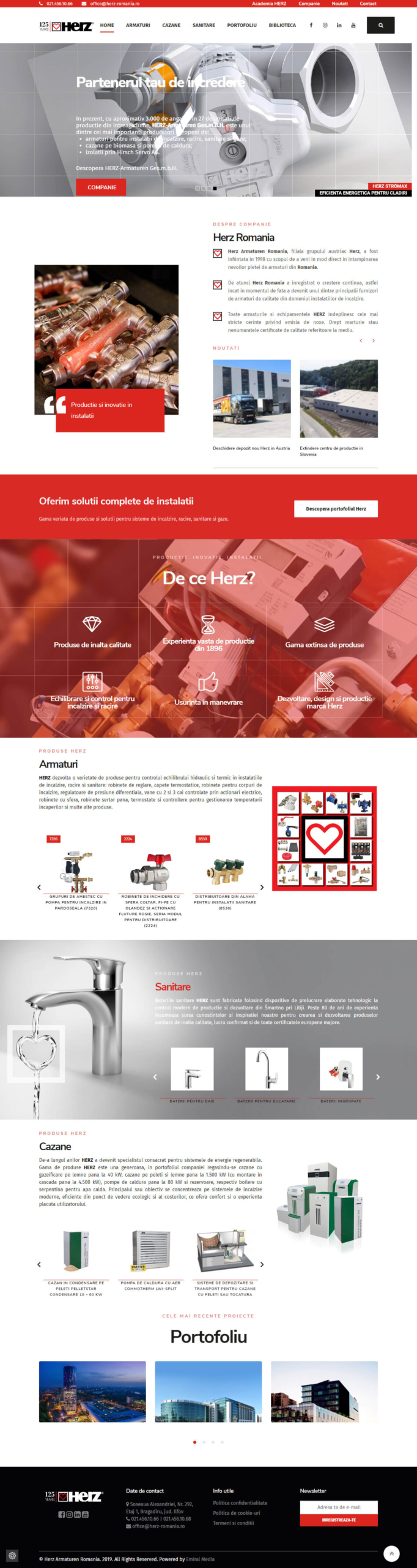 Website Herz