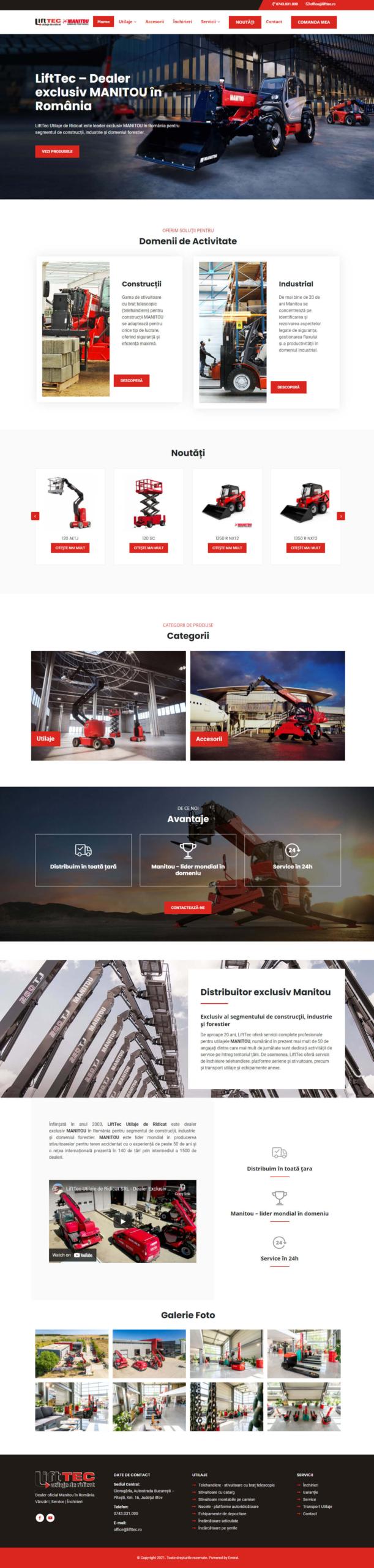 Website Lifttec