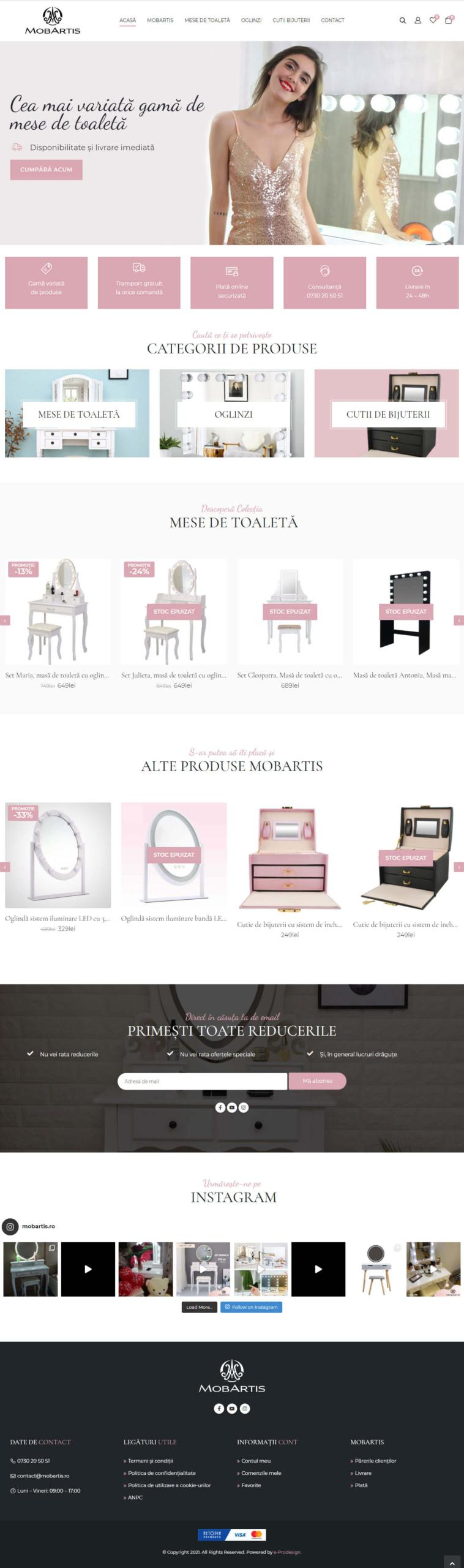 Website Mobartis