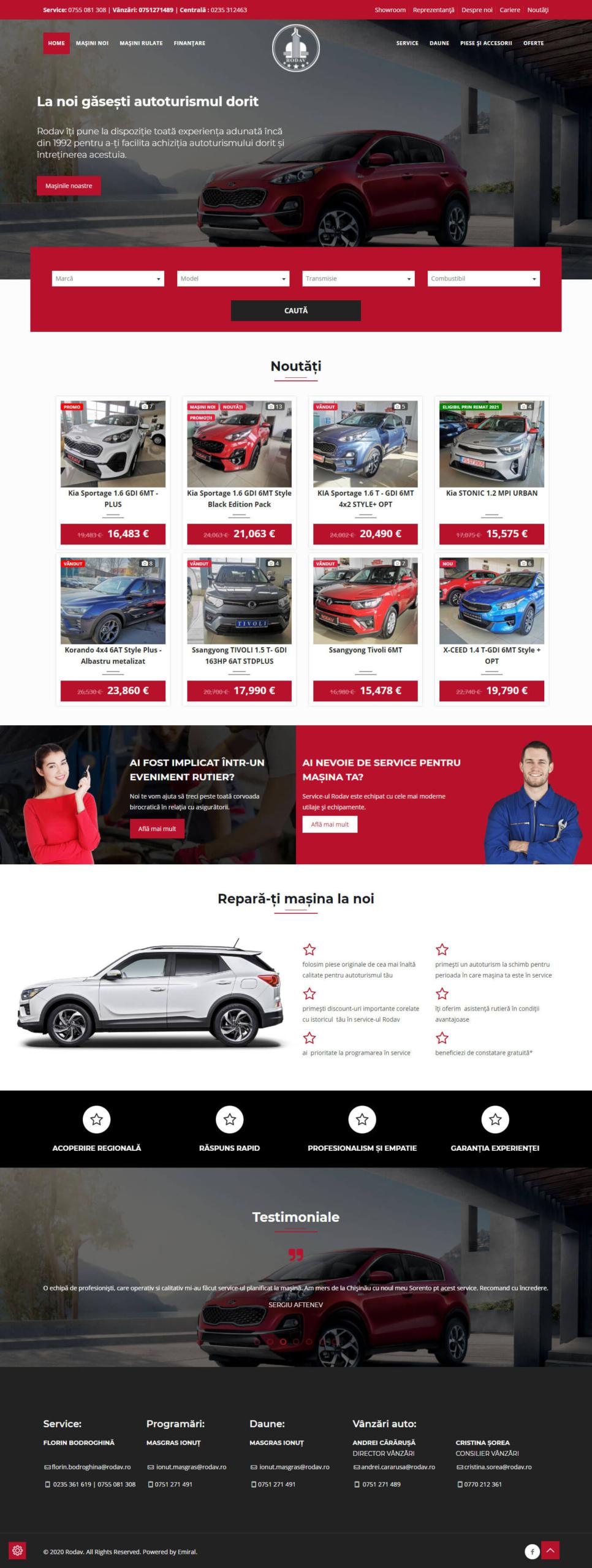 Website Rodav