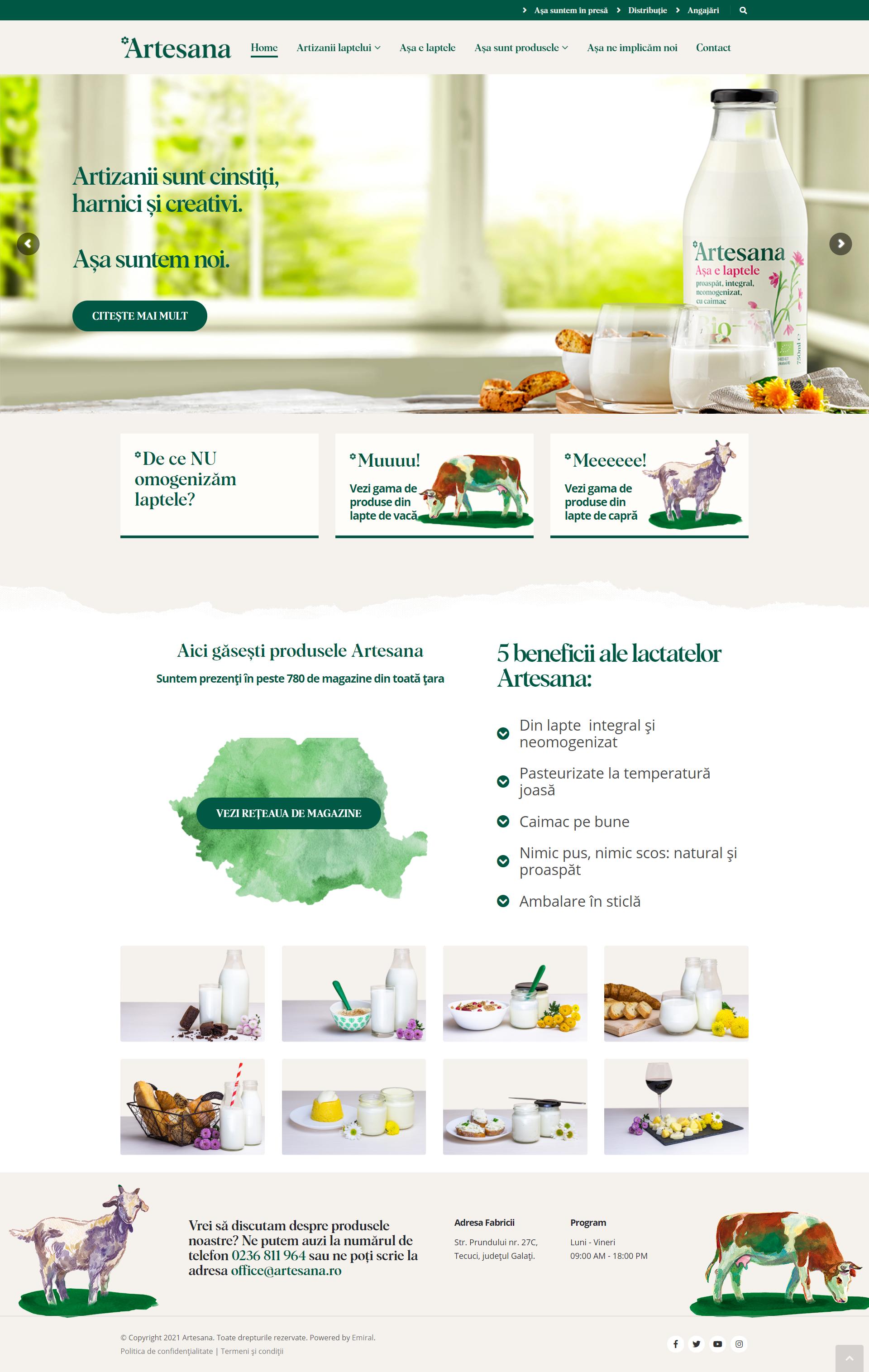 Website Artesana