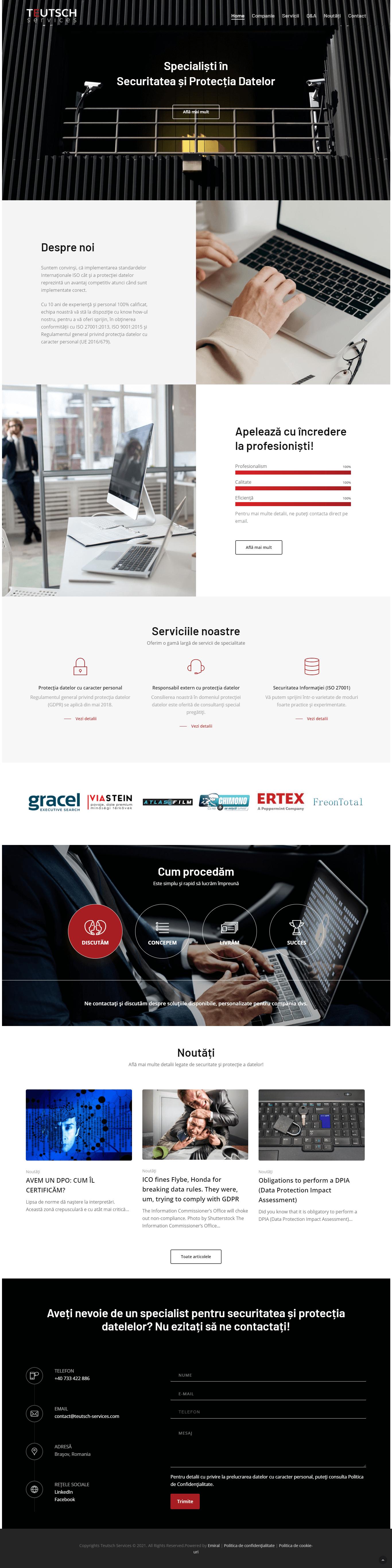 Website Teutsch Services