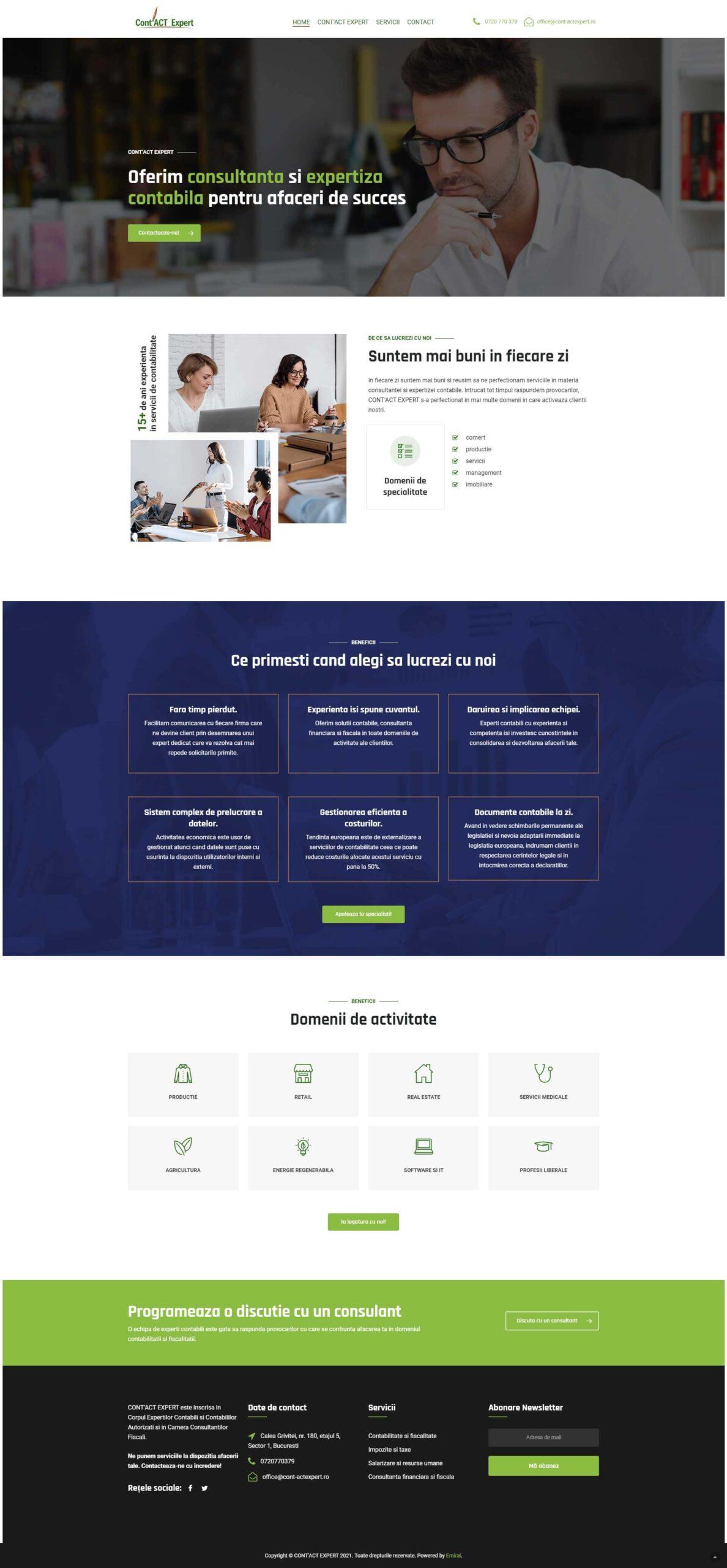 Website Cont'act Expert