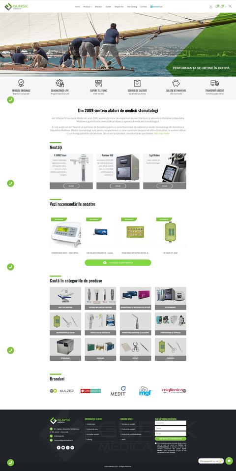 Website Gursk Medica