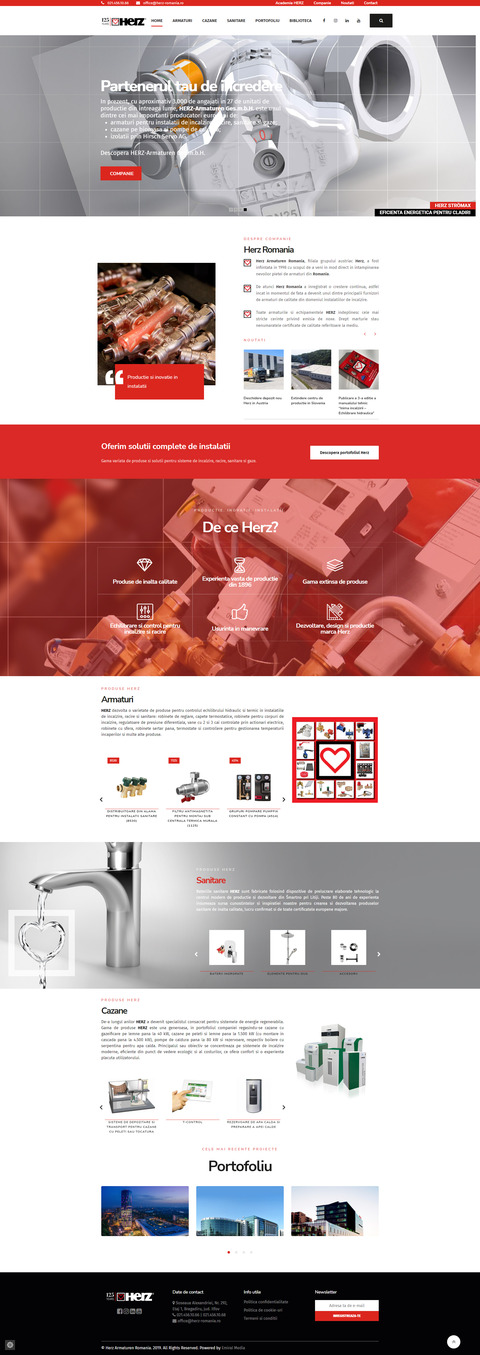 Website Herz-Romania